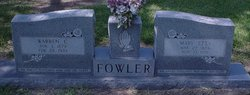Mary Etta <I>Browder</I> Fowler