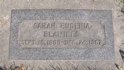 Sarah Eugene Blamires