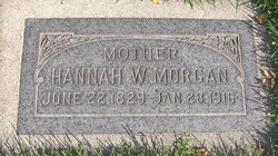Hannah <I>Weaver</I> Morgan