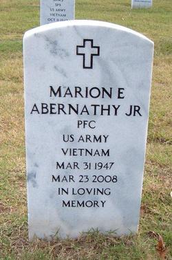 Marion E. Abernathy, Jr