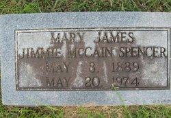 "Mary James ""Jimmie"" <I>McCain</I> Spencer"