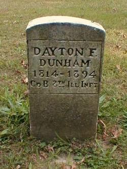 Dayton F Dunham