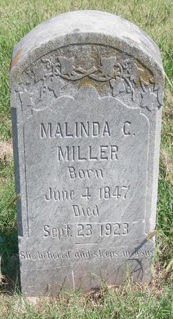 Malinda Caroline <I>Holmes</I> Miller