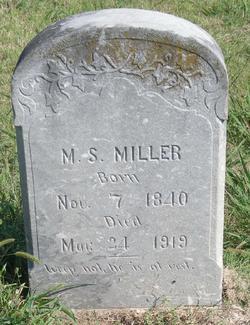 M. S. Miller
