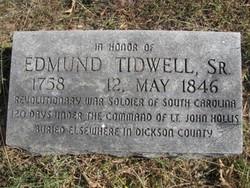 Edmund Tidwell, Sr