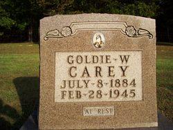 Goldie W. <I>McCorkle</I> Carey