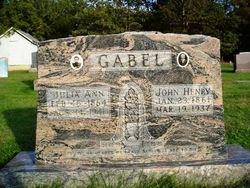 Julia Ann <I>Jackson</I> Gabel