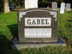 Johnny Edward Gabel