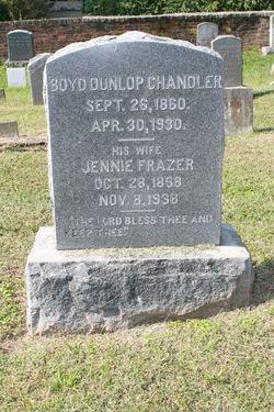 Boyd Dunlop Chandler