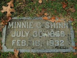 "Mildred Carlton ""Minnie"" <I>Williams</I> Shinn"