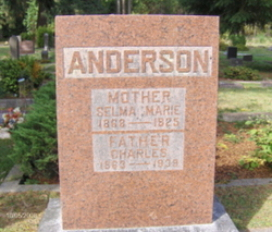 Selma Marie <I>Adolphson</I> Anderson