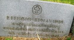 Capt Refugio Benavides