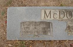 Ewel McDonald