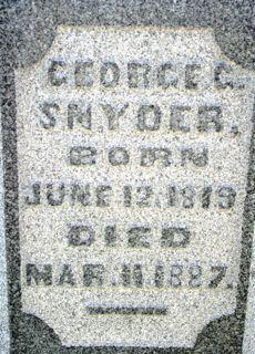 George Gideon Snyder