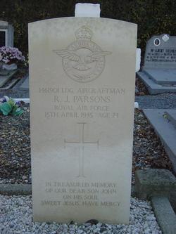 Pvt Reginald John Parsons