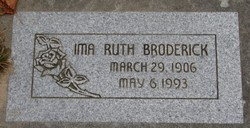 Ima Ruth <I>Ballard</I> Broderick