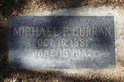 """Michael Francis """"Bish"""" Curran"""