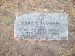 Julius C. Franklin