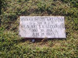 Johnnie Wesley Alexander
