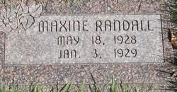 Maxine Randall