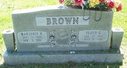 Floyd G Brown