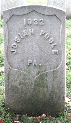 Pvt Josiah Poole