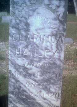 Clarinda <I>Goff</I> Hanley