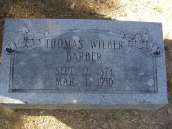 Thomas Wilber Barber