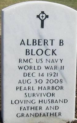 """Albert Brantley """"Al"""" Block"""