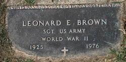 Leonard E Brown