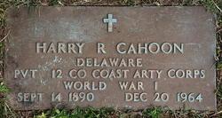 Harry R Cahoon