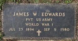 James W Edwards