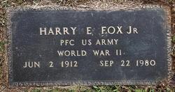 Harry E Fox Jr.