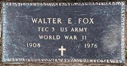 Walter Elmer Fox