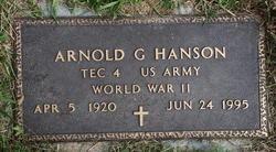 Arnold G Hanson