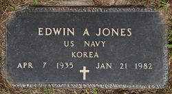 Edwin A Jones
