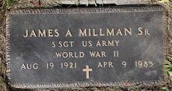 James A Millman Sr.
