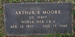Arthur B Moore
