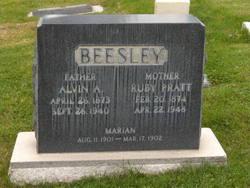 Ruby Ross <I>Pratt</I> Beesley