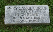 Mary Caskie <I>Gordon</I> Blair