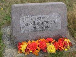 Minnie A. <I>Poulson</I> Lotzgesell