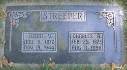 "Susan Ella ""Susie"" <I>Van Fleet</I> Streeper"