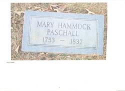 Mary <I>Hammock</I> Paschall