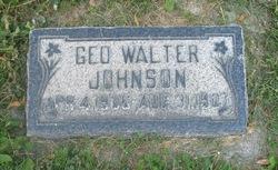 George Walter Johnson