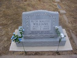Ruth Malone Williams