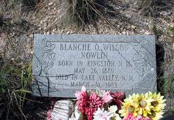 Blanche O <I>Wilson</I> Nowlin