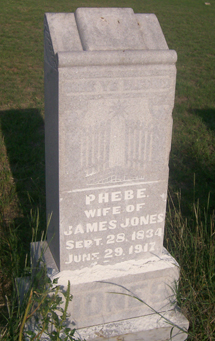 Phebe <I>Mouser</I> Jones