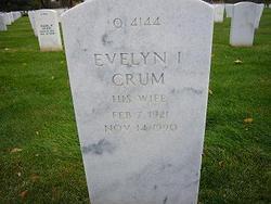 Evelyn Irene <I>Crum</I> Vasquez