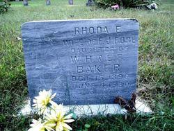 Rhoda E. <I>Baker</I> Fore