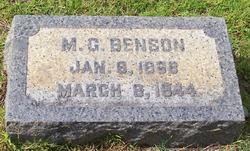 Milledge Greely Benson